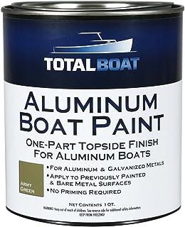 TotalBoat Aluminum Boat Paint (Army Green, Quart) (511784)
