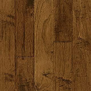 Bruce Hardwood Floors EEL5205A Frontier Hand-Scraped Wide Plank Engineered Hardwood Flooring, Brushed Sahara Sand