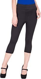 American-Elm Women's 3/4th Yoga Pant