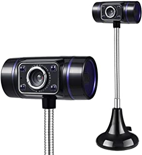 YSY-CY HD Webcam with Microphone for Streaming,Clip-On Webcam for Laptop Desktop Computer,for Gaming Study & Work Laptop W...