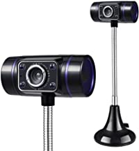 WDFDZSW HD Webcam with Microphone for Streaming,Clip-On Webcam for Laptop Desktop Computer,for Gaming Study & Work