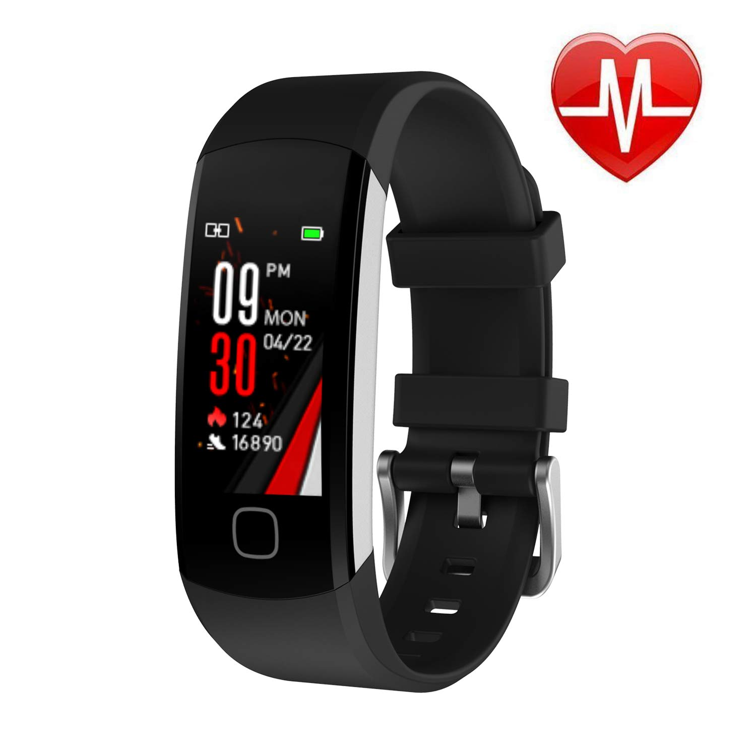 L8star Continuous Waterproof Activity Pedometer