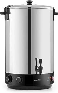 Klarstein KonfiStar 50 - Stérilisateur automatique, Distributeur boissons chaudes, 50 L, 30-110 ° C, Conservation à chaud,...