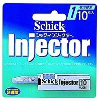 シック Schick インジェクター替刃(10枚入り)