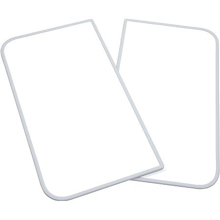東プレ アルミ組合せ式風呂ふた センセーション(2枚割) U10 ホワイト/ホワイト 68×98×1cm