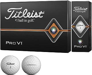 タイトリスト(TITLEIST) ゴルフボール 2019 Pro V1 ローナンバー ユニセックス T2026S-J ホワイト