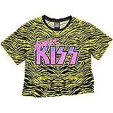 【予約商品】 KISS キッス (地獄への接吻45周年) - ANIMALIZE/Amplified( ブランド ) / Crop Tops Series/Tシャツ/レディース 【公式/オフィシャル】