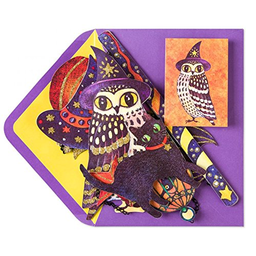 PAPYRUS Wizard Owl Mobile Card, 1 EA