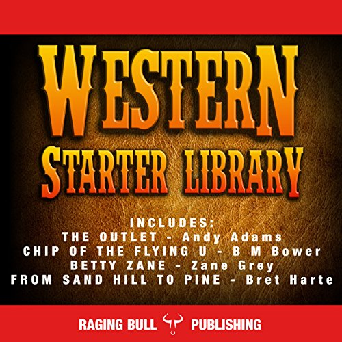 Western Starter Library (Annotated) audiobook cover art