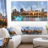 Art-design Designart Montreal Panoramic View-Cityscape