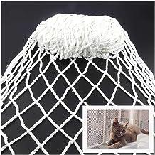 JHKJ Pet Climbing Net, Cat Protection Climb Netting Playground Rock Swingset Safety Nylon Large Mesh Outdoor Treehouse Net Multifunction Net,5x5m(16.4 16.4ft)
