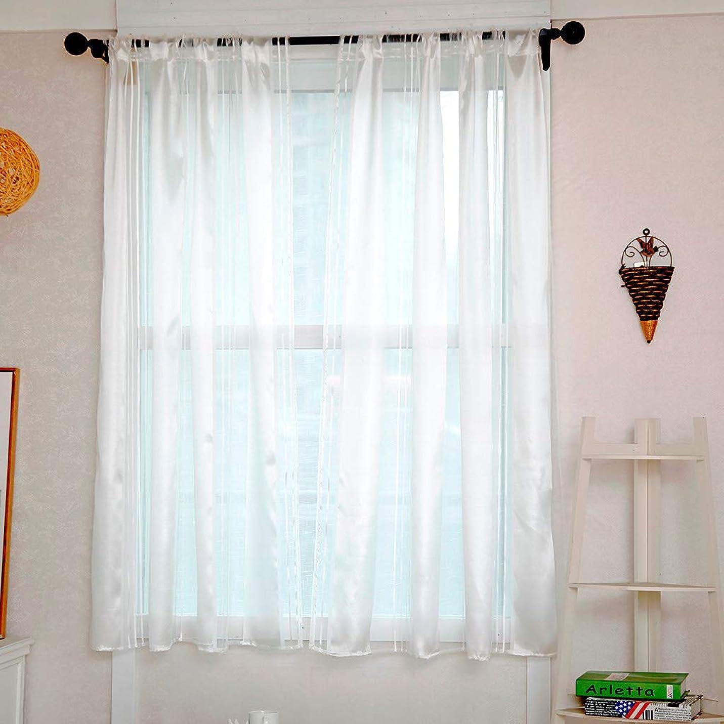 処方する彼らのパートナーFarantasyカーテン 葉薄手のカーテンチュールウィンドウトリートメントボイルドレープバランス1パネル生地レースカーテン 1級遮光 防音 遮音 リビング用 遮熱 断熱 北欧 セット 寝室 カーテンセット ドレープカーテン UVカット リビングルームベッドルームバスルームオフィスコーヒーショップカーテン 130x100cm