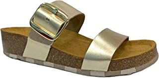 CCILU Horizon Olga Gold Sandals