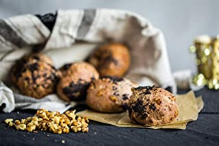 Oh My Goodness! Gollybells Gluten-Free Walnut Bread Rolls (3 Piece), 270 g - Frozen