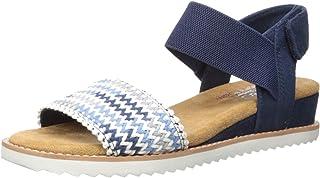 Skechers Desert Kiss - Zig Zag macrame sandal womens Sandal