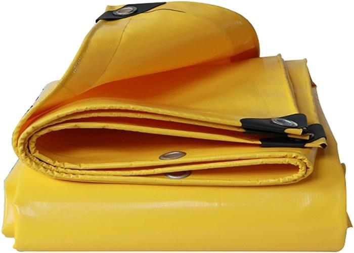 COZY HOME AAA Tissu de Tente Jaune, Double Face Imperméable à l'eau Pare-Soleil Voiture auvent 1.5X 2