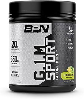 Bare Performance Nutrition, G.1.M Sport Endurance Formula, Electrolyte Formula, Cluster Dextrin, Superior Carbohydrate Source (Lemon Lime)