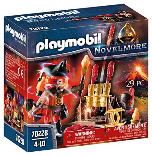 PLAYMOBIL Novelmore 70228 Maestro de Fuego