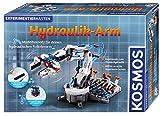 Kosmos 620479  Hydraulik-Arm, Modellbausatz für deinen hydraulischen  Roboterarm, Experimentierkasten zu Hydraulik und Pneumatik, mit Greifarm  und Saugnapf, ab 10 - 14 Jahre