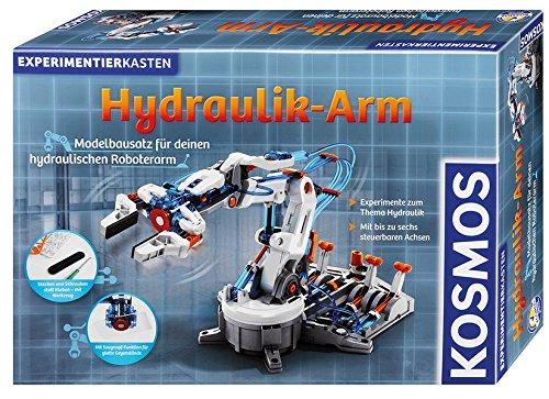 Hydraulik-Arm: Modellbausatz für deinen hydraulischen Roboterarm