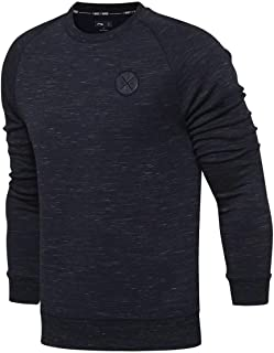 0562424909b LI-NING Men Wade Po Knit Top Sweaters Hoddies Fitness Comfort Regualr Fit  Interlock Fabric