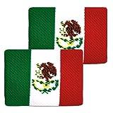 Unique Sports Flag Wristbands, Mexico Flag sweatbands