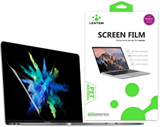 LENTION Clear Screen Protector Compatible for 2016-2019 MacBook Pro (15-inch, with Thunderbolt 3 Ports) - Model A1707 / A1...