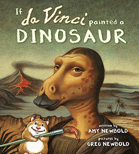 Image of If da Vinci Painted a Dinosaur