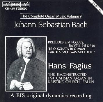 Bach, J.S.: Organ Music (Complete), Vol. 9