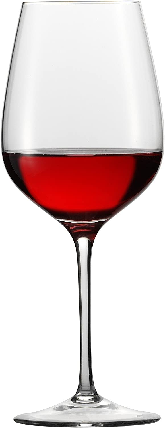 Eisch Superior All Purpose Red Wine Sensis Plus Lead-Free Crystal Wine Glass, Set of 2, 21-Ounce