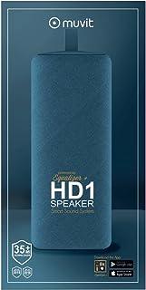 Muvit HD1 BT Speaker Grey for Multi Compatible - Grey - MUSSP0016