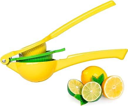Top Rated Afiken Premium Quality Metal Lemon Lime Squeezer - Manual Citrus Press Juicer