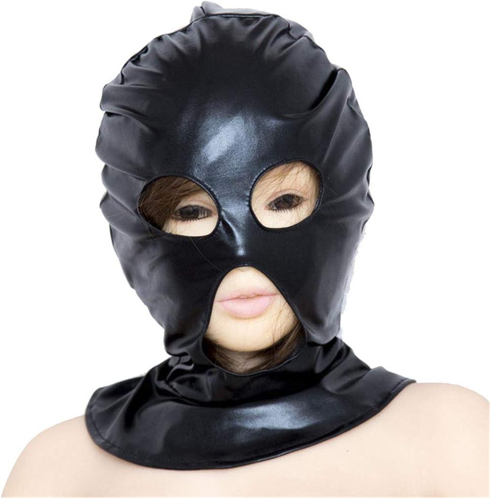 LI Max 57% OFF Yuan BDSM Fetish Mask Black Mouth Slave Product Year-end gift Eye Hood Sex