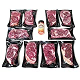 Nebraska Star Beef Aged Premium Angus Ribeye Steaks - All Natural Hand Cut and Trimmed with Signature Seasoning - Gourmet Steak Delivery to Your Home