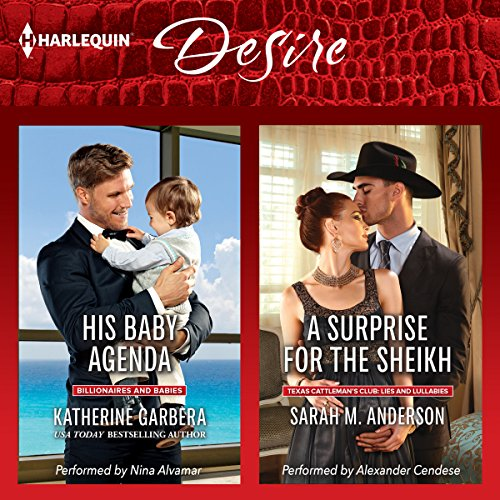 His Baby Agenda & A Surprise for the Sheikh audiobook cover art