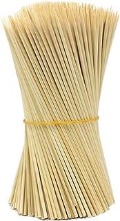Da. WA 1juego de madera de bambú Pinchos para barbacoa frutas barbacoa fiesta de incienso 15cm