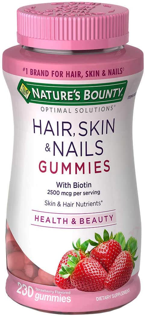 Hair Skin and Max 65% OFF Nails Bottles Regular store Count 3 230