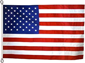 Annin Flagmakers Model 2780 American Flag Tough-Tex The Strongest, Longest Lasting, 15x25 ft, 100% Made in USA with Sewn Stripes, Appliqued Stars and Roped Heading