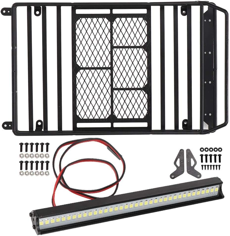 Max 65% OFF Drfeify 1 10 RC Car Roof Rack Parts Carrier TRX Jacksonville Mall Luggage for Tray