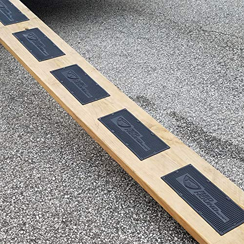 Red Hound Auto 6 Compatible with Ramp Mats Rubber 12 Inches x 6 Inches Traction Non-Slip w Screws Hardware Trailer Cargo