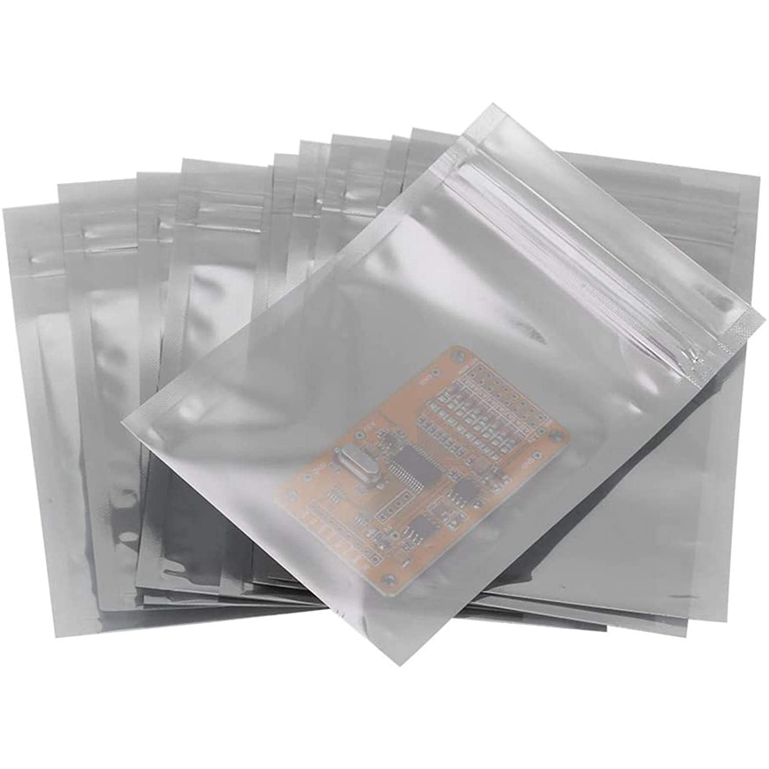 100Pcs Anti Static Package Bag Set Our shop Sale Special Price most popular Offs Zip Lock for Storage