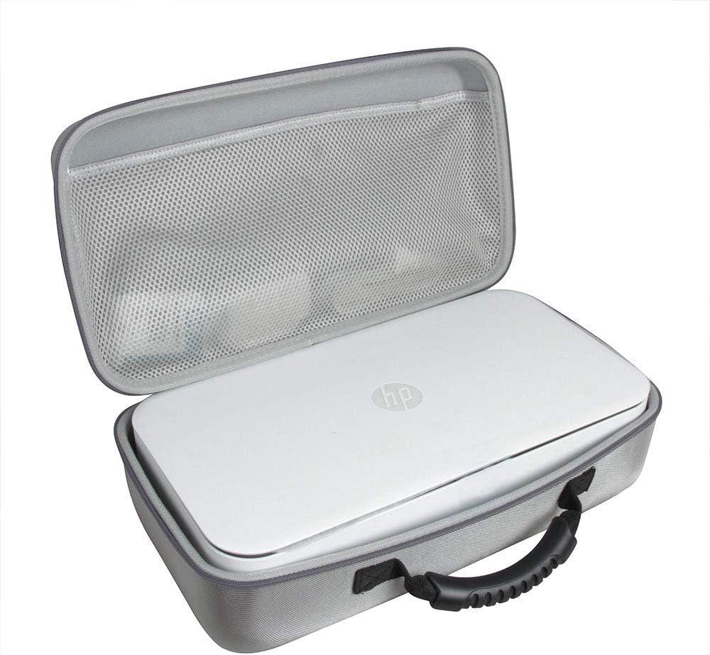 Anleo Hard Travel Case for HP Tango/Tango Terra/Tango X Smart Home Printer 2RY54A / 3DP64A (Grey)