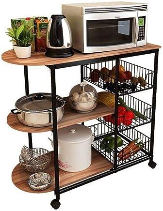 Amazon.it: scaffale legno - Elettrodomestici per la cucina ...