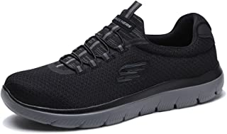 Skechers Summits Mens Slip On Sneakers Gray