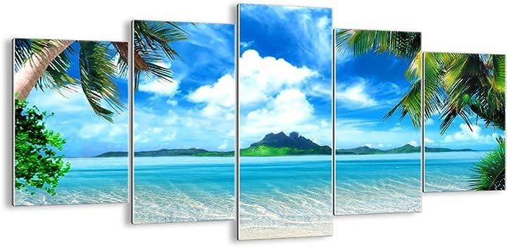 Quadri moderni soggiorno - stampe su vetro varie dimensioni e temi grafici - gea160x85-2528 B01IHNMKRW