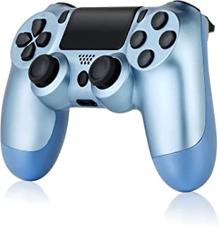 Wireless Controller for PS4, Tiiroy Gamepad Remote Joystick for Playstation 4/Pro/Slim Game Console with 1000mAh Rechargea...