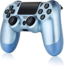 $34 » Wireless Controller for PS4, Tiiroy Gamepad Remote Joystick for Playstation 4/Pro/Slim Game Console with 1000mAh Rechargea...