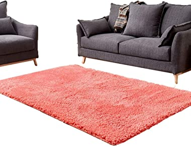 Solid Plush Rug for The Living Room: 3.5 cm Thick Carpet for The Dining Room and The Bedroom, Color Color Optional (Color: Gr