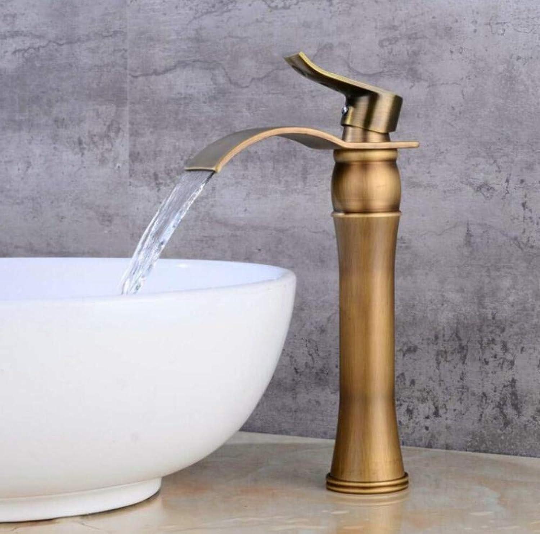 Bathroom Faucet Faucet Waterfall Sink Faucet Single Handle Water Tap