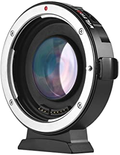 Viltrox EF-M2II Auto Focus Lens Mount Adapter 0.71X for Canon EOS EF Lens to Micro Four Thirds (MFT, M4/3) Camera